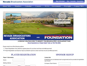 Nevada Broadcasters Golf Tournament